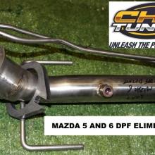 Mazda DPF Eliminator (Delete)  (DPF-OFF)