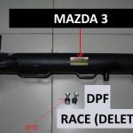 Mazda 3 Race Pipe