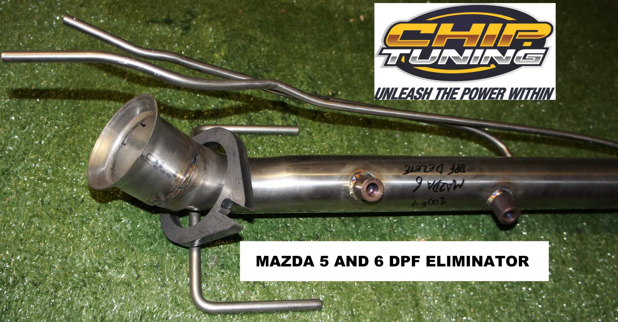 Mazda 3 and 6 DPF Delete Pipe